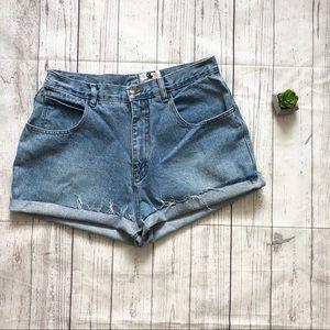 Vtg Rafaella High Waisted Cutoff Jean Shorts